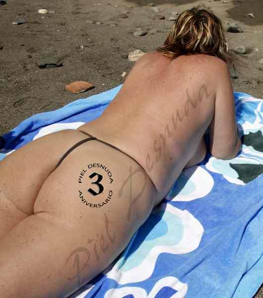Piel desnuda de cumple...¡entre el uno y el tres de septiembre!